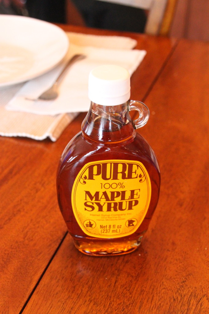 "Maple Syrup, farmer raised and not the other ""stuff"" called syrup."
