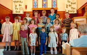 1980's Lutheran Kids Singing