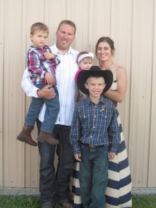 Bader family, farming and ranching in North Dakota