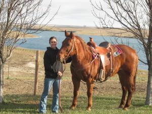 Amanda, North Dakota rancher