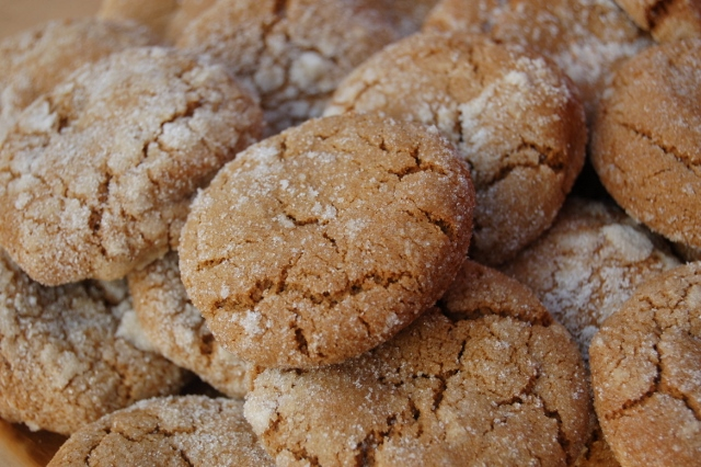 Molasses Spice Cookies from Sonja's Old-Fashioned Delicacies