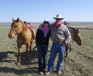 Jessie Thompson, Idaho cowgirl