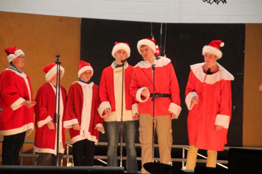Santa's singers