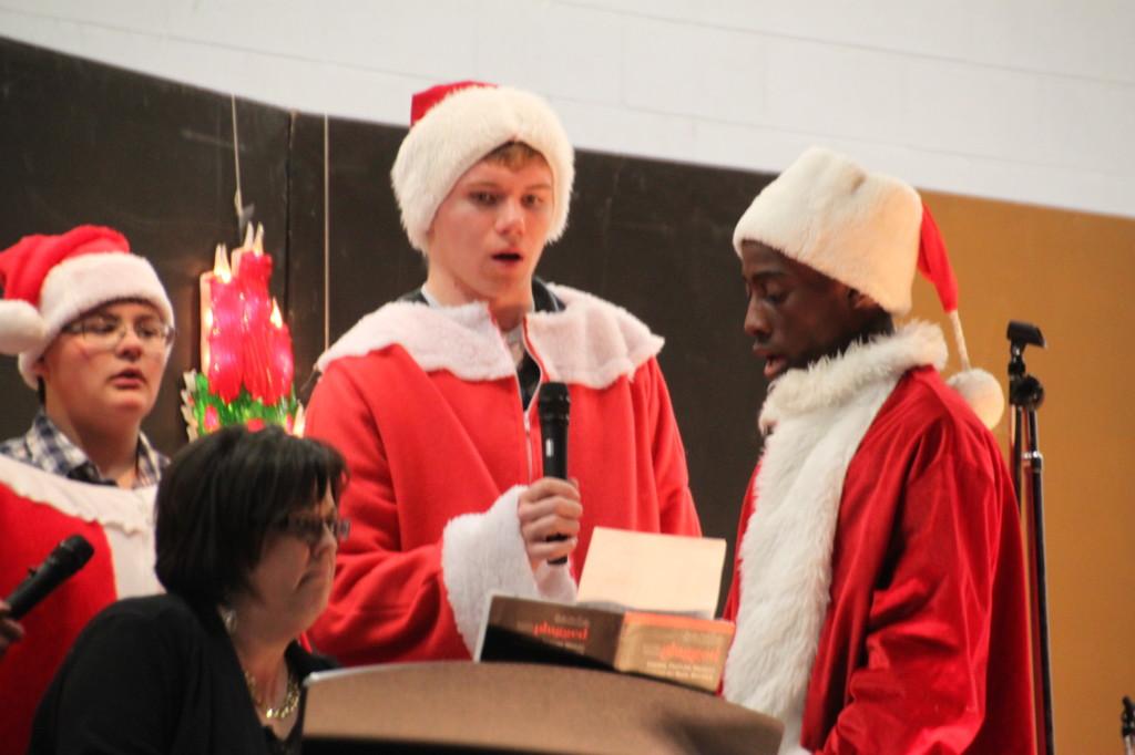 Santa singers