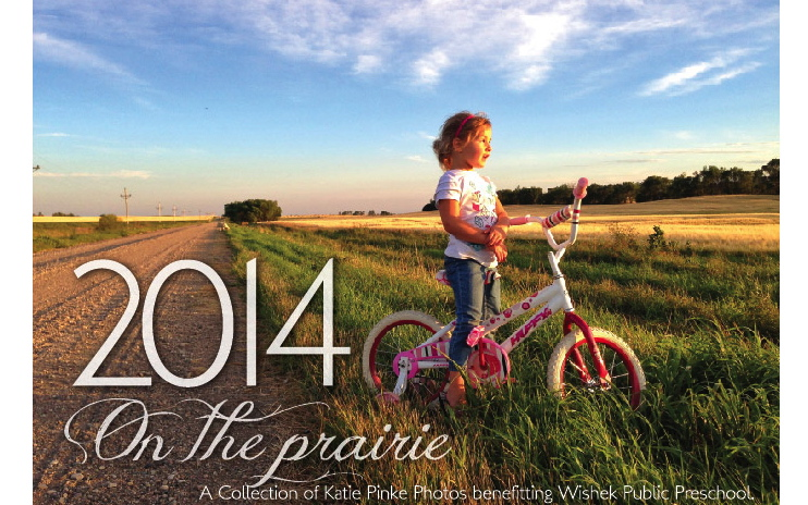 2014 On the Prairie Calendar from Katie Pinke