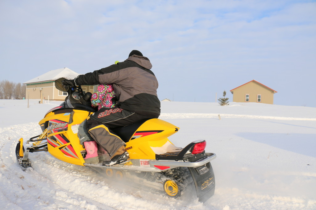 North Dakota snowmobiling