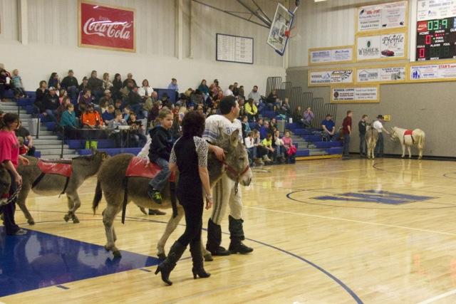 Donkey Basketball Fundraiser