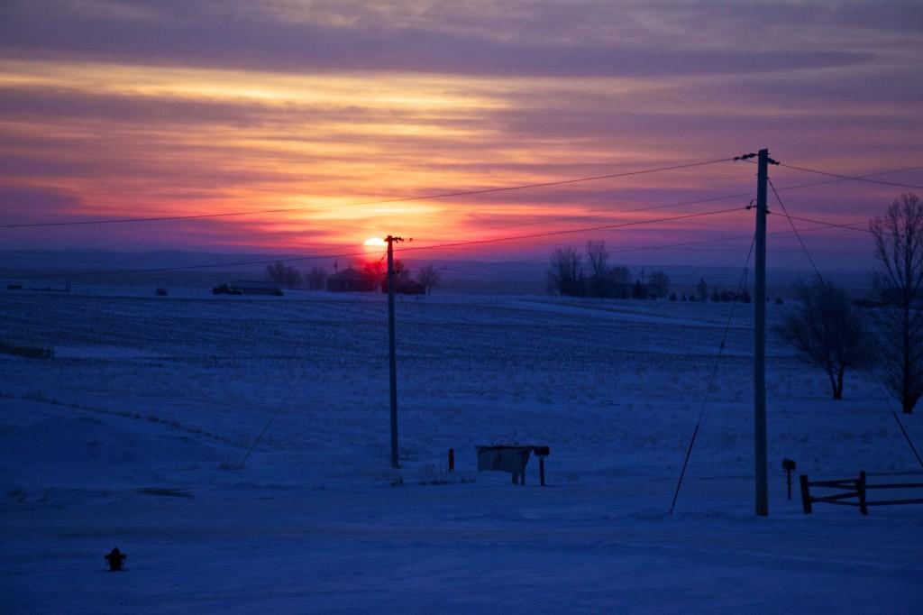 NorthDakota_prairie_winter_sun