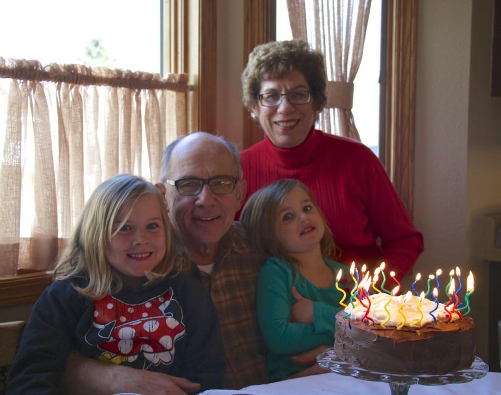 The Pinke Post Grandpa's Birthday