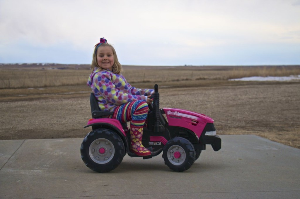 The Pinke Post Pink Tractor