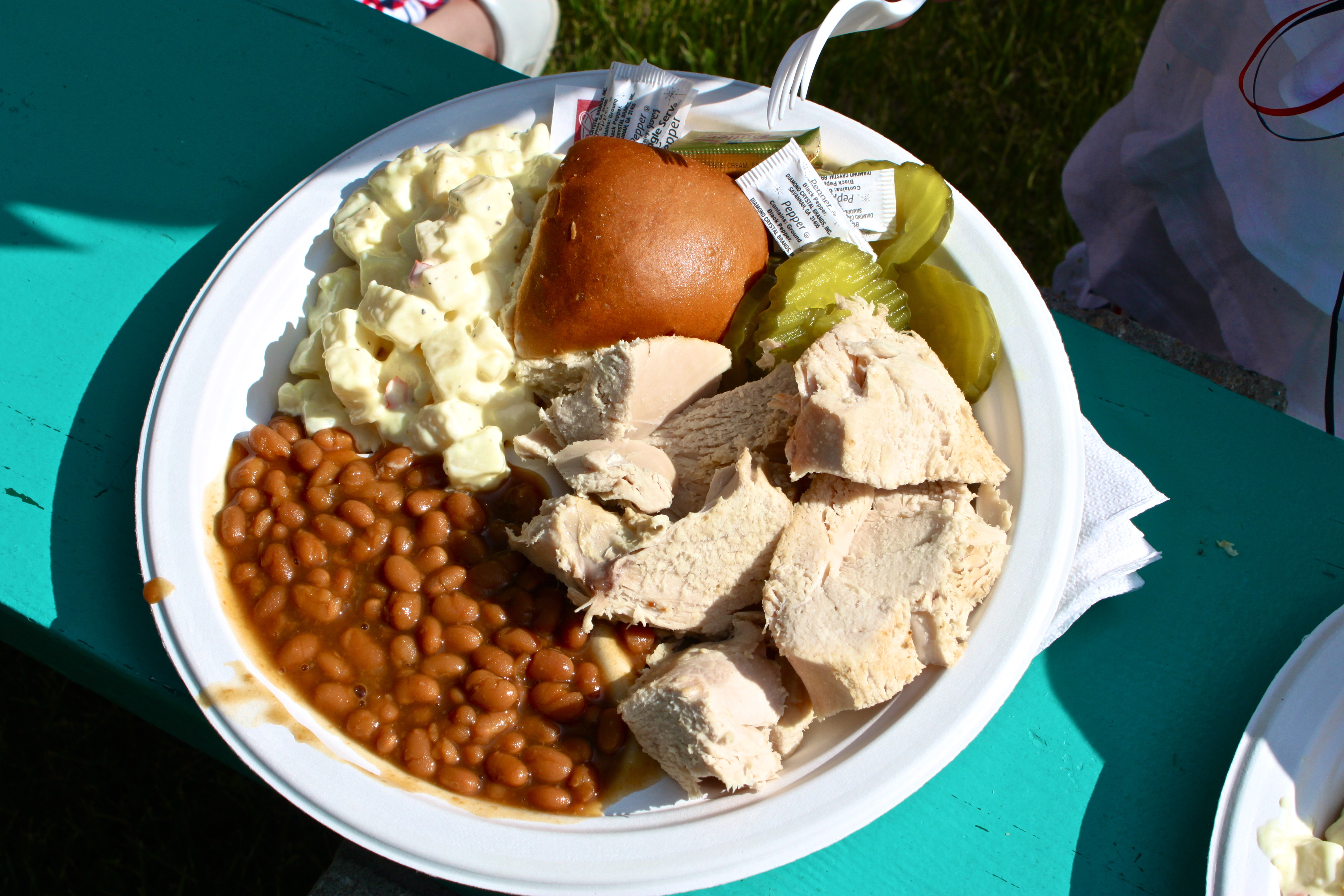 Worlds largest turkey bbq in aneta north dakota the pinke post turkey bbq with all the fixins freerunsca Image collections
