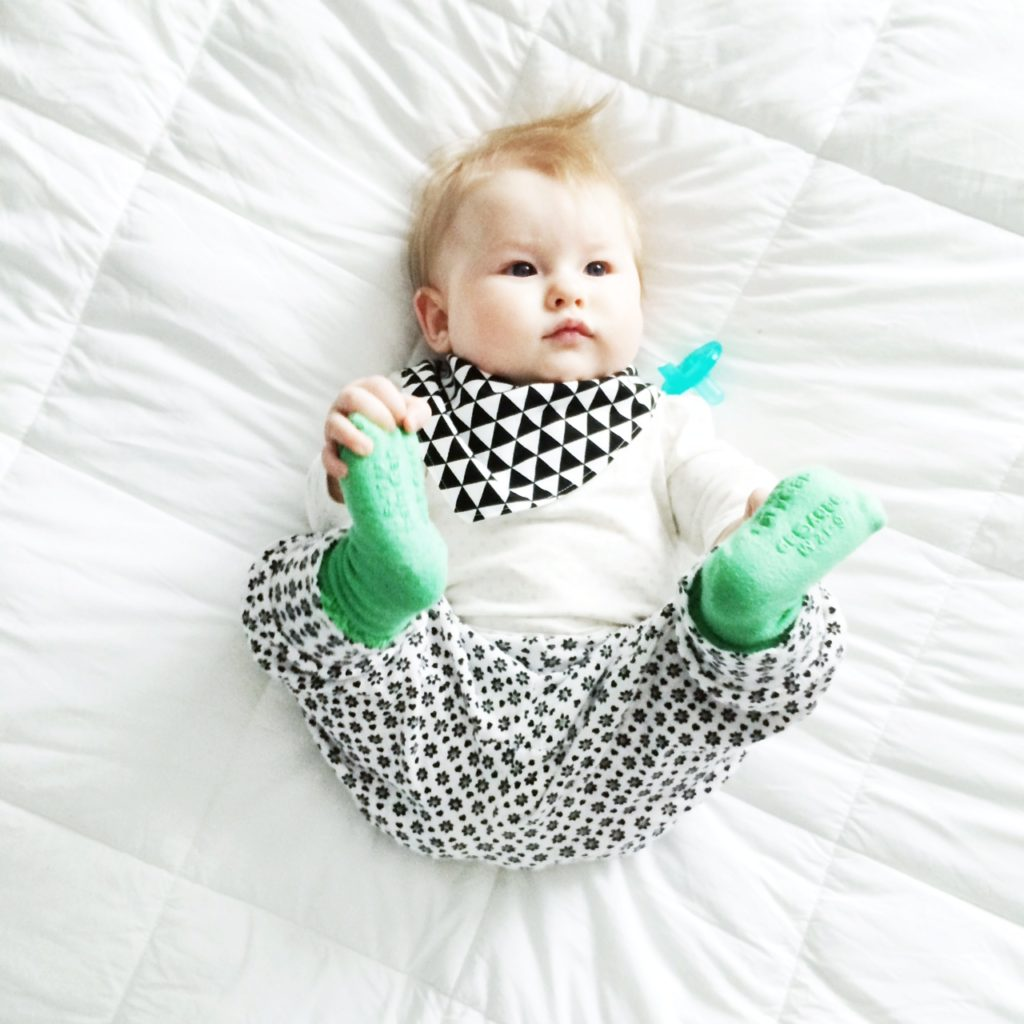 Bison Booties Triangle Bib