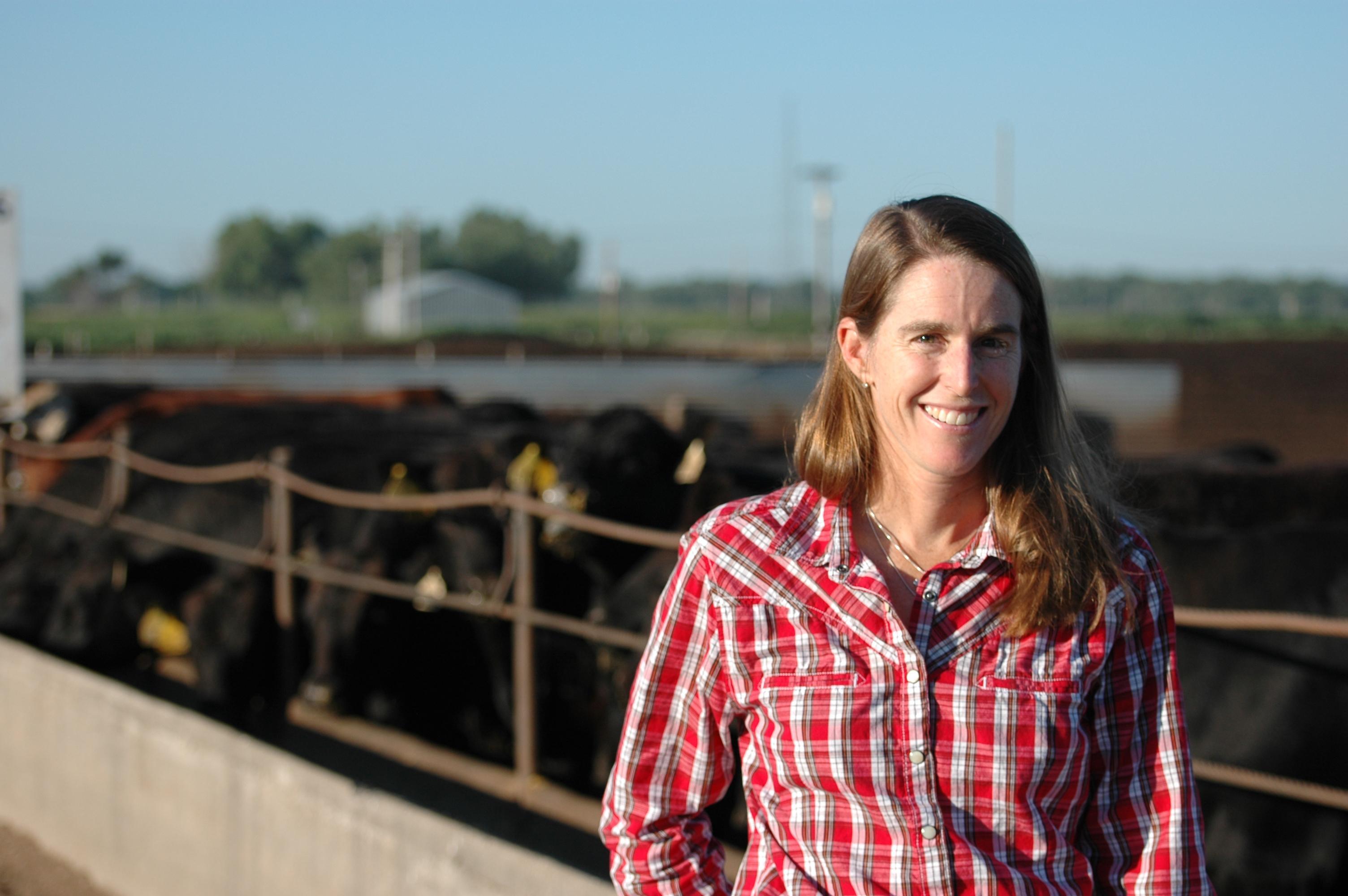 Women In Ag Anne Burkholder Nebraskas Feedyard Foodie The