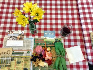 Farm Tablescape