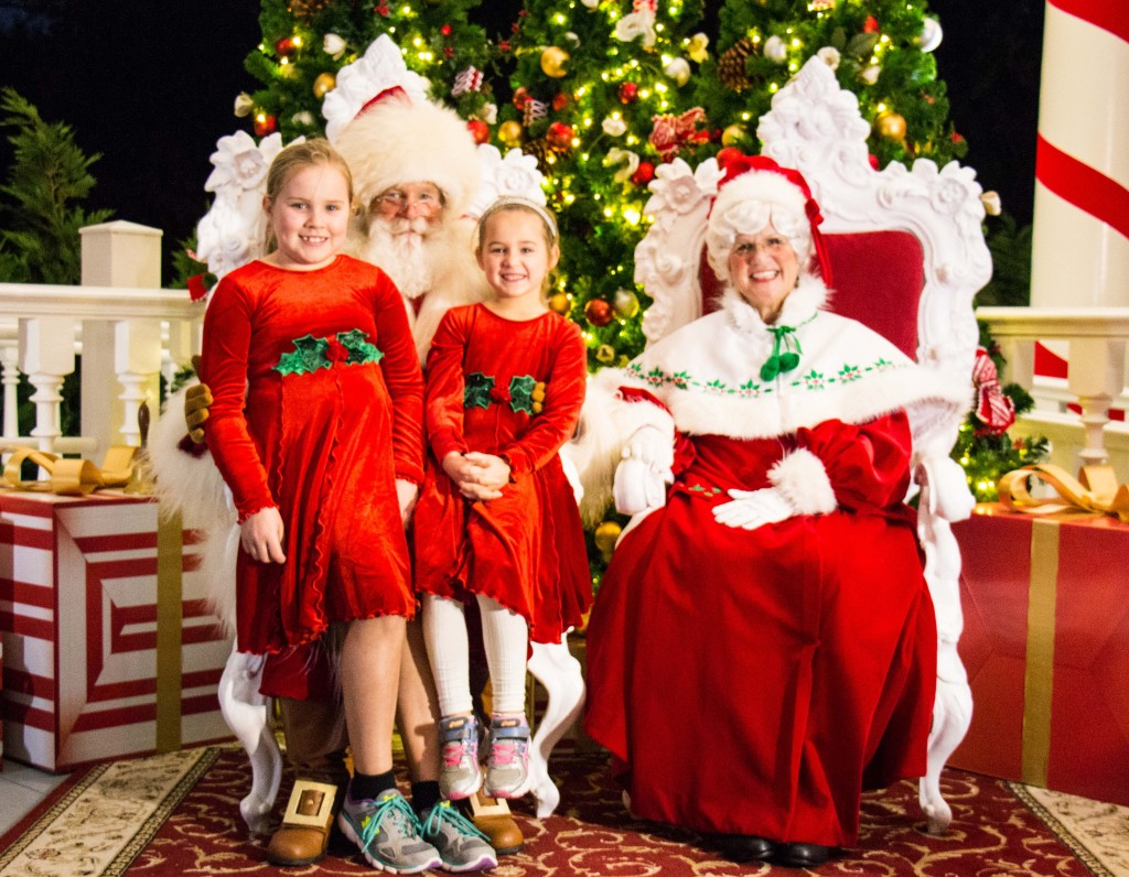 Epcot Santa Visit