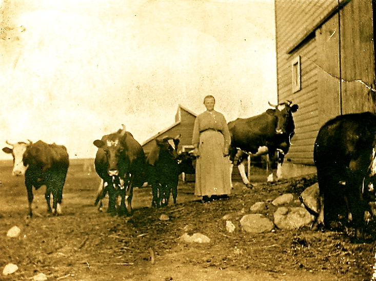Farming ancestors had limited choices compared to what we have today. Read more about this photo in my mom's blog GriggsDakota post.