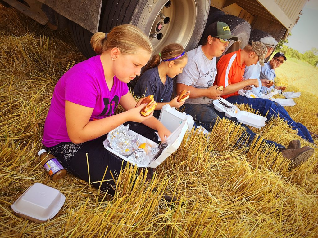 The importance of harvest meals