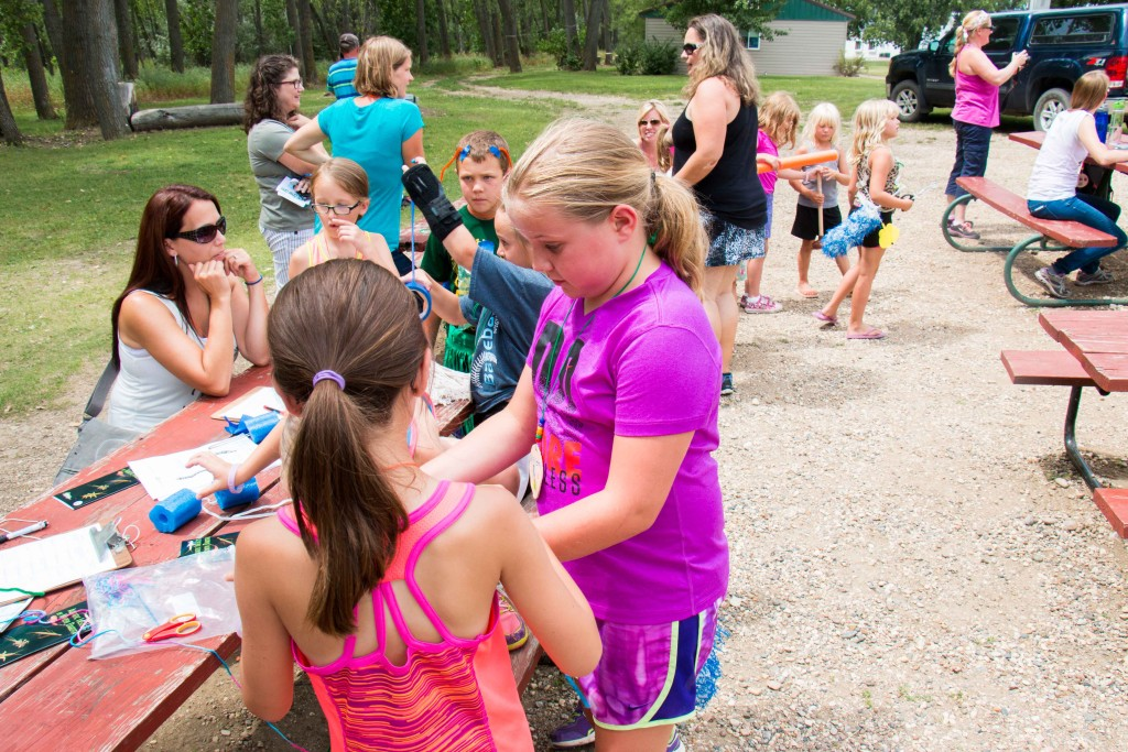 New experiences at 4-H camp