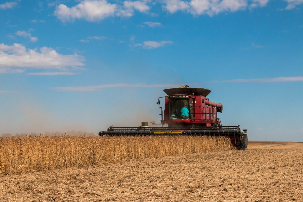 Changes, perspective on soybean harvest