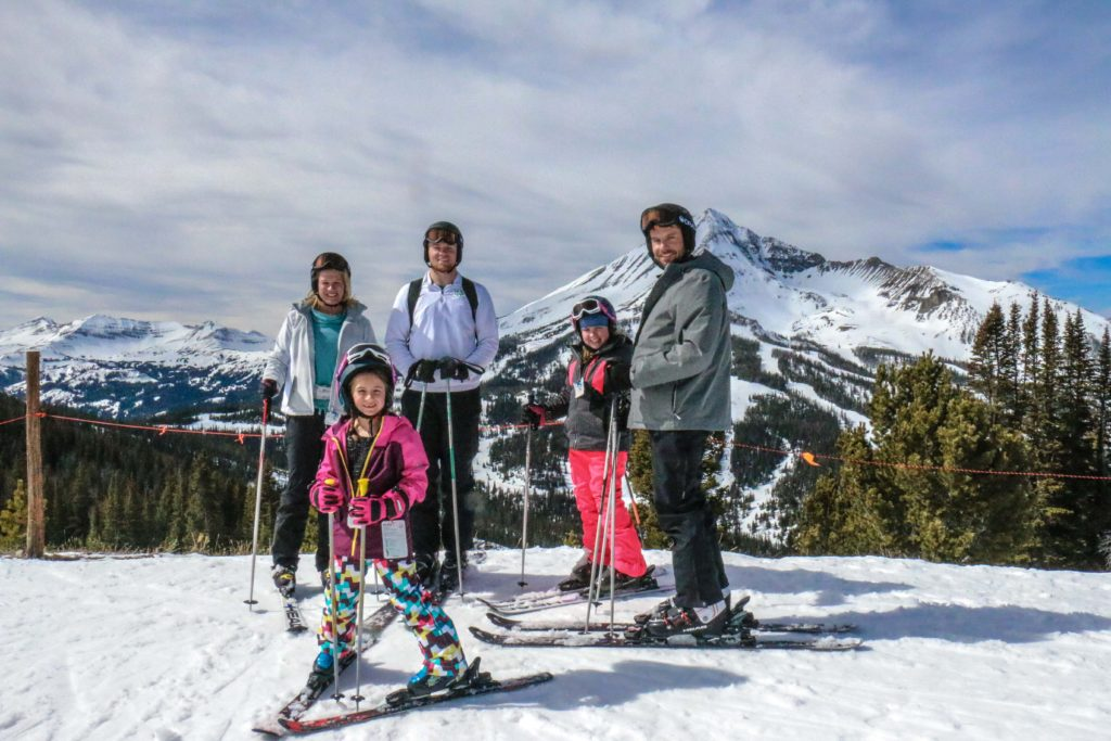Taking time for a Big Sky family ski adventure